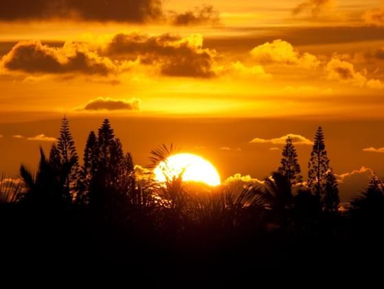 Sunsets or sunrises?