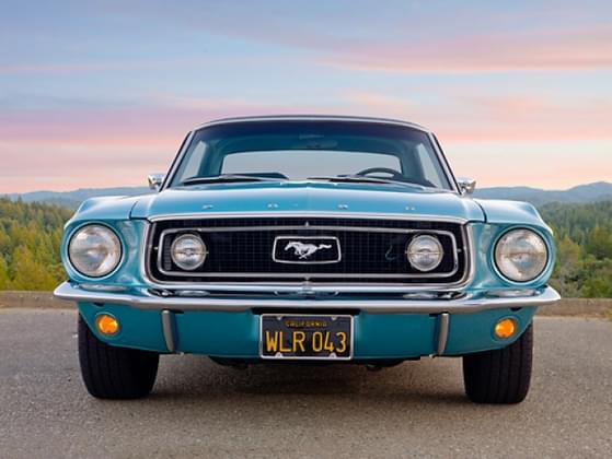 If you were to own a classic Ford Mustang, what color would you want it to be?