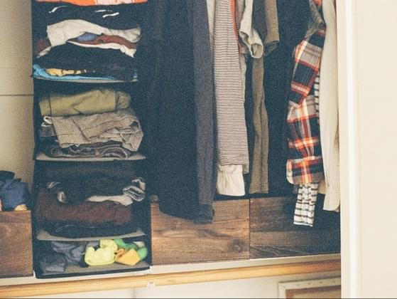 How do you organize your clothing?