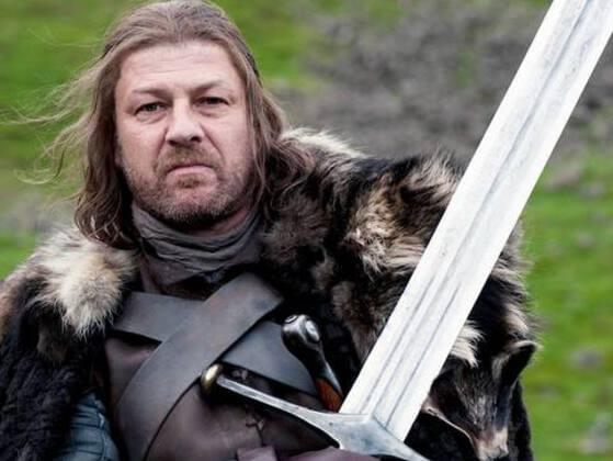 What was the name of Ned Stark's greatsword?