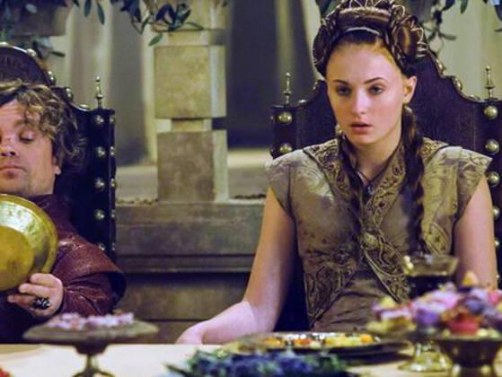 What is Sansa Stark's favorite treat?
