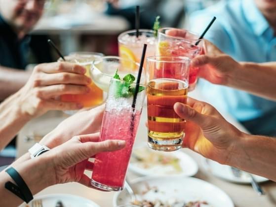 Choose your favorite drink garnish: