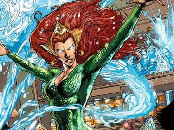 During The Blackest Night Crossover Series, Which Ring Latched Itself To Mera's Finger?