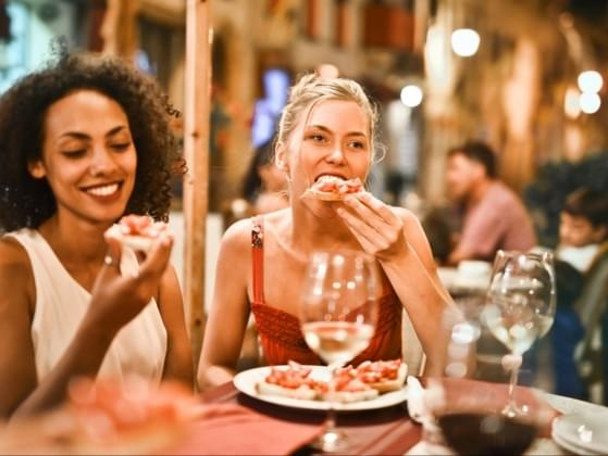 Would you rather eat alone or sit with a group of strangers?