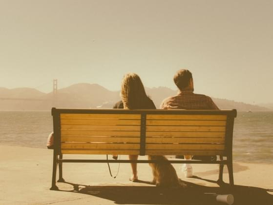 How long can you comfortably sit in silence together?