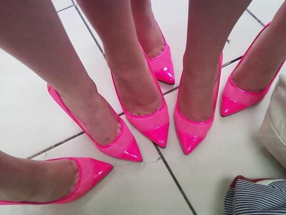 What's your favorite type of footwear to wear on a night out on the town?