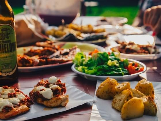 Your friend is hosting a pot luck dinner. What can you do to help?