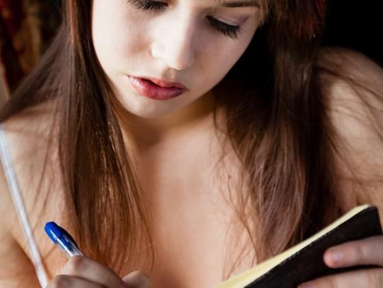 Do you keep a journal?