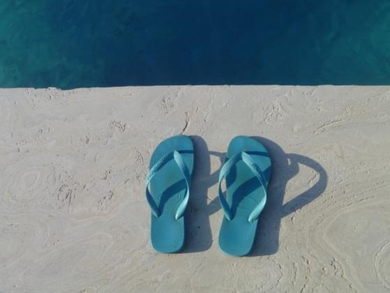 Do you own a pair of flip flops?
