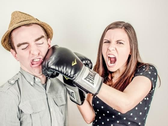 You and your partner are fighting. What is the fight like?