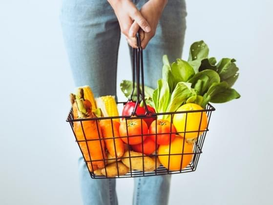 When it comes to buying groceries, you always go for foods that are...