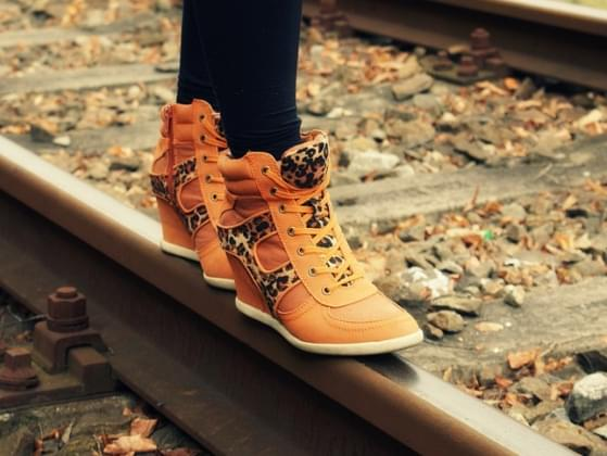 What type of footwear do you rock most often?
