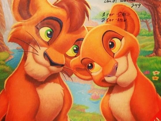 If Simba wasn't your best friend, which another character would be?