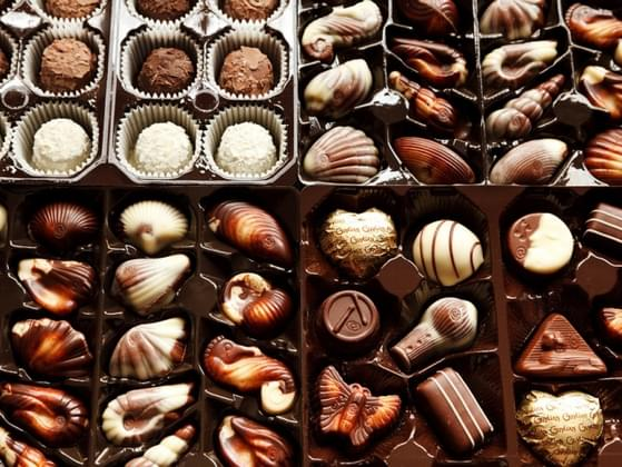 When selecting chocolate from a box, you hope that you get...