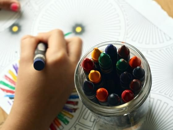 Think back to when you were a kid. What did you enjoy coloring with the most?