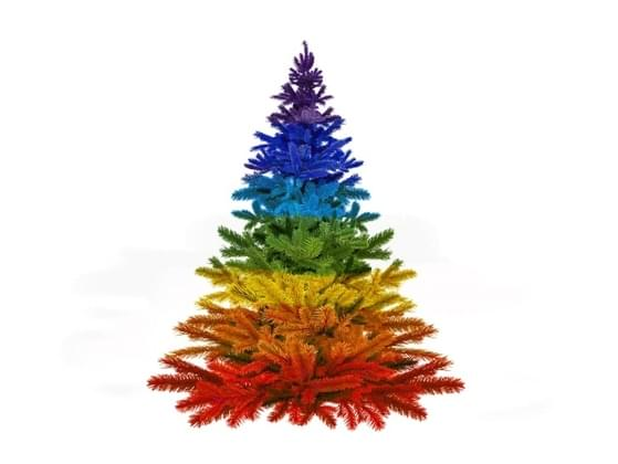 What are your thoughts on oddly colored Christmas trees?