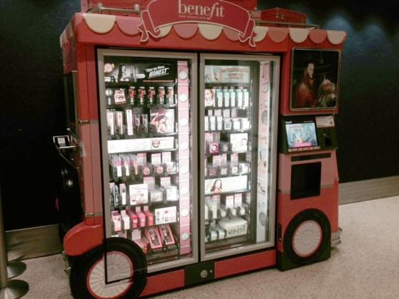 Would you ever purchase makeup from a vending machine?
