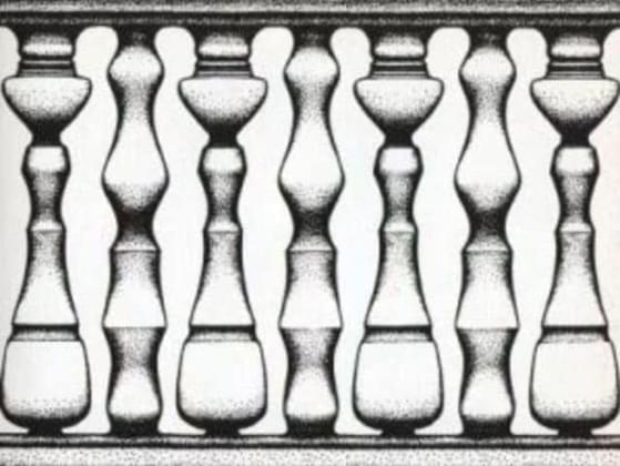 What did you see first in this picture?