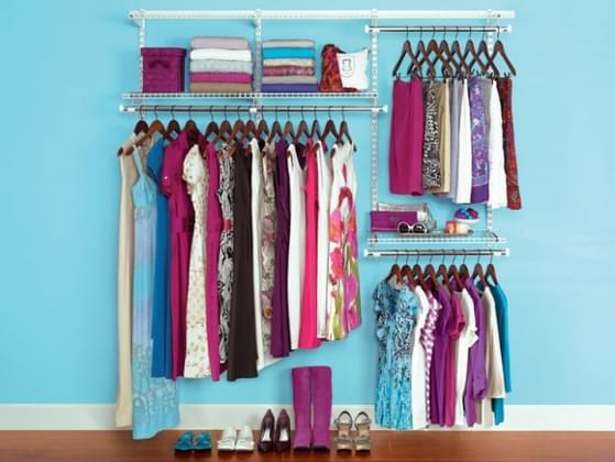 What would someone find a bevy of in your closet?