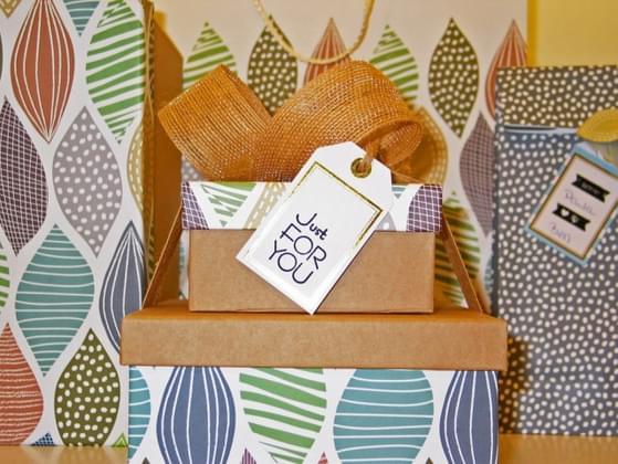 Do you enjoy getting gifts?