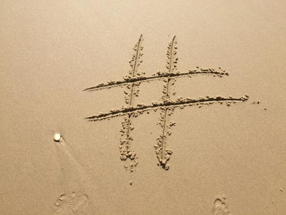 Which hashtag do you use the most?