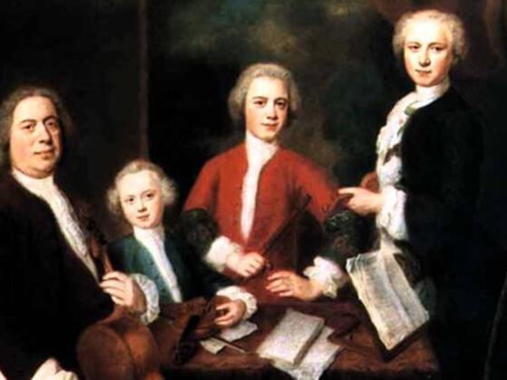 """Which famous composer said of Bach's son, Carl Philipp Emanuel Bach, """"He is the father, we are the children""""?"""