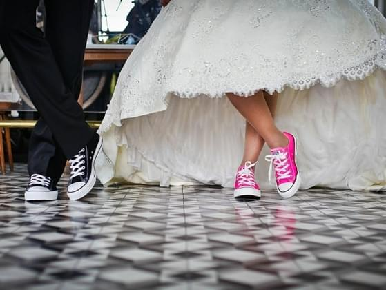 What shoes did you wear at your wedding, or will you wear if you get married?