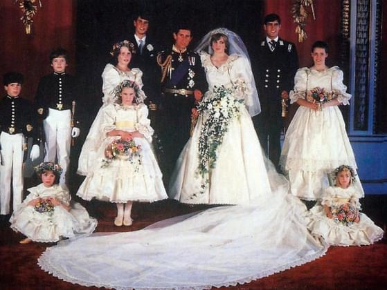 How did you feel when you heard of Charles and Diana's royal wedding?