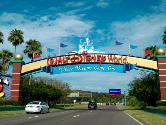 How did you feel about the opening of Disney World?