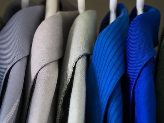 What color would you wear on a day that you want to look professional?
