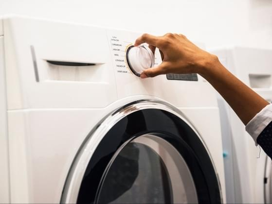 How should you react when your boyfriend or husband does laundry or makes the bed?