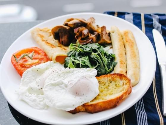 It's breakfast time. What will you be having?
