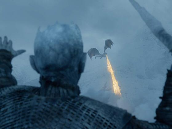 Which one of Dany's dragons now belongs to the Night King?