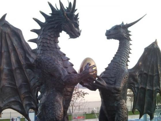 What would you do if you sighted a dragon?