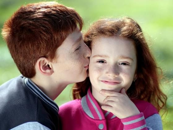 Do your siblings find it easy to show you their affection?