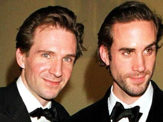 Who is Ralph Fiennes' famous sibling?