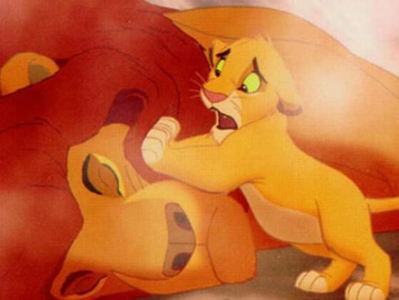 Who Does Simba Blame For The Death Of His Father?