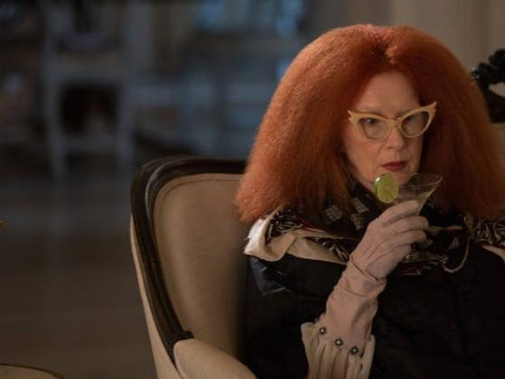 Which actress played the role of Myrtle Snow in Coven?