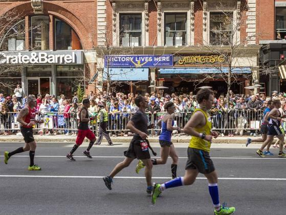 In what year was the first Boston Marathon run?