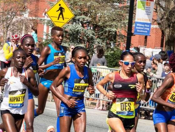 The first year women were allowed to officially enter the Boston Marathon.