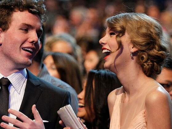 Taylor has one sibling — a younger brother. What's his name?