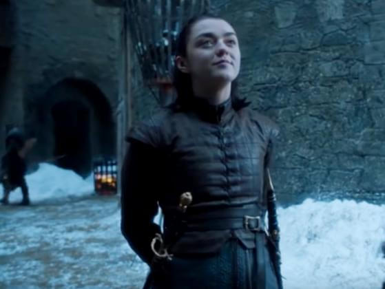 What is the name of Arya's sword?