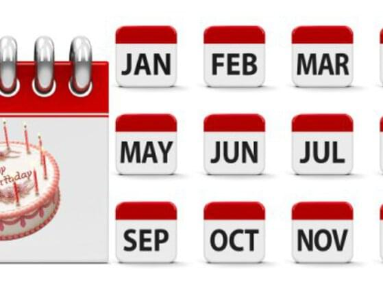 Which month is closest to your Birthday?