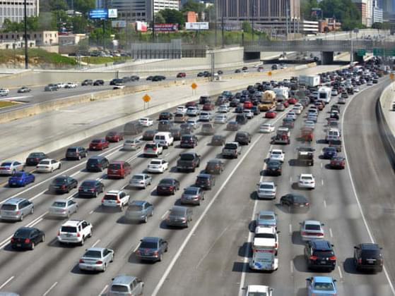 What do you think is the best way to beat Atlanta traffic?