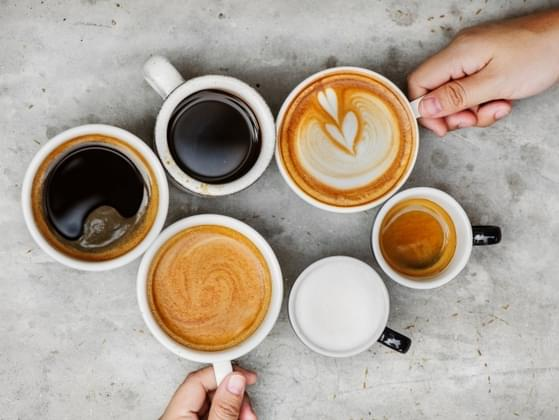 How many cups of coffee do you typically drink per day?