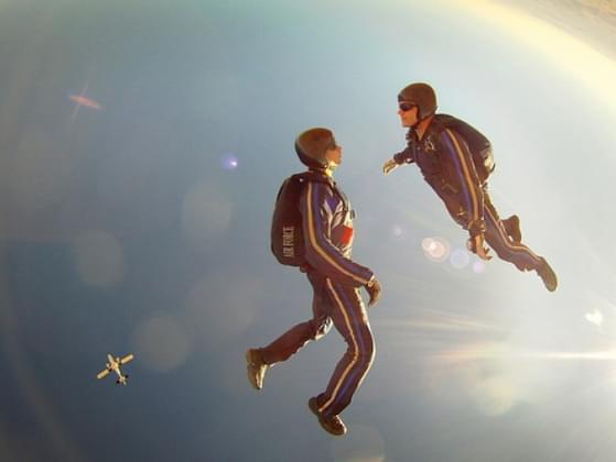 Your friend invites you to try sky diving. Do you do it?