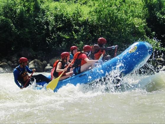 Would you rather go white water rafting or hang gliding?
