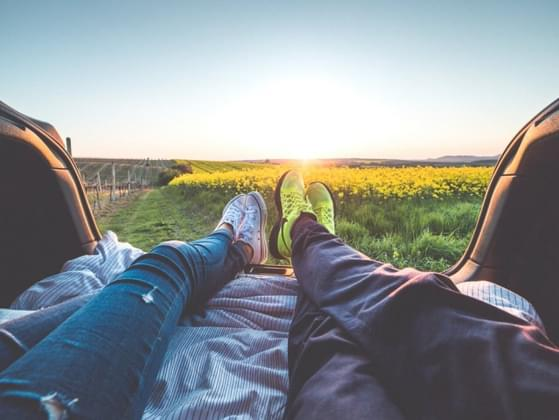 Do you enjoy just sitting in silence with the person you love?