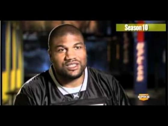 Who did 'Rampage' Jackson repeatedly refer to as