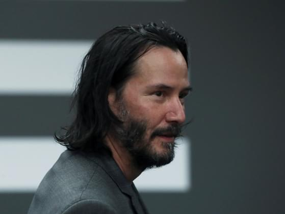 What was Keanu Reeves' nickname as a hockey player?